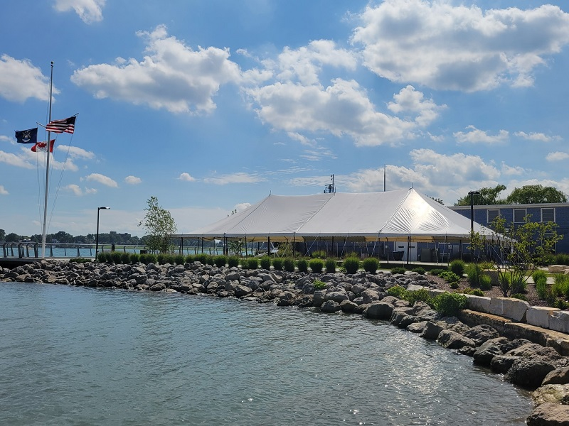 20' Wide Stakedowns Tents